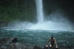 grande catarata. (mybeardandmypenguin) Tags: costa waterfall rica catarata arenal