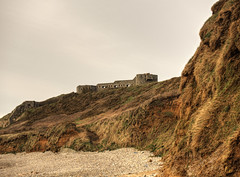 Fort Tourgis from Clonque Beach, Alderney (neilalderney123) Tags: landscape fort alderney clonque tourgis 2016neilhoward