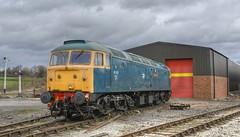 47401 (D1500) 'North Eastern' . Swanwick Junction . (Alan Burkwood) Tags: diesel locomotive northeastern midlandrailway brushtype4 d1500 swanwickjunction 47401