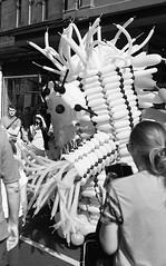 Balloon Monster (eddieddieddie) Tags: newzealand bw 35mm wellington homeprocessed caffenolc 135format agfa80s cubadupa
