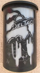 Del Taco Sconce (TedParsnips) Tags: cactus lamp logo fastfood mexicanfood saguaro sconce deltaco