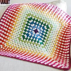 This blanket is for sale, it's... (Strawberry Latte) Tags: forsale crochet etsy babyblanket crochetblanket crochetrainbow crochetaddict uploaded:by=flickstagram crochetersofinstagram instagram:photo=1158277842048745282391400350