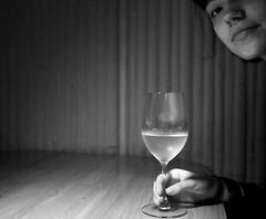 Izakaya (squirrelled) Tags: girl beautiful lady table wine bella vino