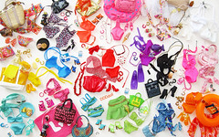 Get Ready (dddDolls) Tags: summer get color beach look hat swim bag for photo necklace shoes doll barbie mini ready accessories sute bangel