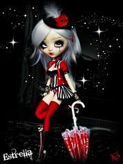 Estrella... (Trisquette) Tags: umbrella circus sewing pullip fc eyopa trisquette