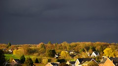 Avant la pluie-gold light (Yasmine Hens) Tags: sky landscape gold flickr belgium ngc explore soir orage namur hens yasmine goldlight iamflickr flickrunitedaward sonyilce7 hensyasmine