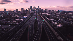 35W leading to Minneapolis (jah_1315) Tags: beautiful minnesota minneapolis aerial best phantom drone dji