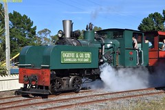 DS_Train_4_McLeansIsland_09April2016 (nzsteam) Tags: price train island traction engine railway scene steam engines locomotive boiler boilers mcleans sawmilling