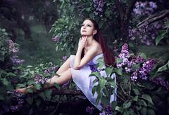 Magic lilac-1172 (Dina Letova) Tags: summer portrait girl beauty model photographer lilac photosession        photographerinmoscow