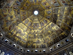 Ceiling in The Baptistery of San Giovanni in Florence (chibeba) Tags: city urban italy florence spring europe april 2016 citybreak