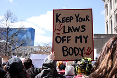 Keep Your Laws Off My Body (supimtaylor23) Tags: mike poster indianapolis rally protest womens abortion rights protesting pence