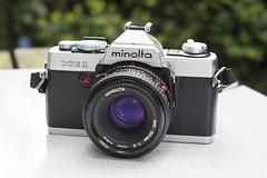 #CFS Minolta XG1 (old model) with 50mm F/2 (Arne Kuilman) Tags: camera lens 50mm forsale minolta xg1 cfs tekoop cameraforsale camerasthathavepassedthroughmylife