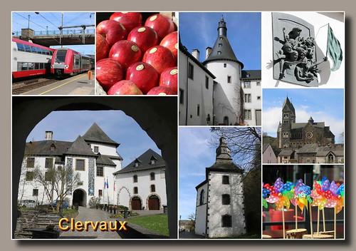 Clervaux (Clerf, Klierf, Cliärref)
