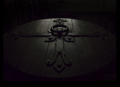 st chad's middlesmoor 4 (ian.meekham) Tags: wood light shadow black texture church dark mono cross y yorkshire olympus carving negativespace spirituality simple lightshadow tone lightandshadow woodcarving churchinteriors em5 yorkshirechurches olympusem5
