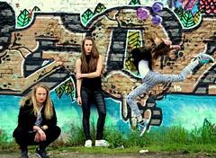 - (Raquel Cherelle) Tags: shoot grafitti photoshoot rough stoer