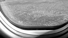 So Paulo (VNCISS) Tags: city trip cidade brazil sky white black window linhas brasil buildings de airplane town fly flying selva ground janela paulo avio pedra so gol prdios voar voando ares