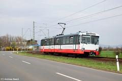 Oberursel (Taunus), 03.04.16, VGF U2 406 (Andreas Beeck) Tags: u2 frankfurt oberursel vgf duewag niederursel