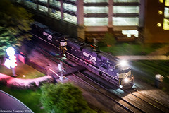 NS Night Pan (Brandon Townley) Tags: railroad columbus ohio night ns trains pan norfolksouthern