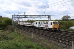 Network Rail DR98009 & DR98014 @ Chorlton Nr Crewe (uksean13) Tags: train canon cheshire rail railway crewe networkrail ef28135mmf3556isusm trackmachine chorltonlane dr98009 dr98014 760d