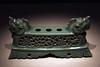 용머리 장식 붓꽂이 : dragon Crown brush stand (만보 manbo) Tags: 20d museum canon korea seoul tradition 1785mm