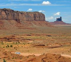 Monument Valley Navajo Tribal Park, AZ-UT Boarder 2010 (inkknife_2000 (6 million views +)) Tags: arizona usa landscapes utah monumentvalley mittens sandstoneformations navajonation westernmovies redrockformations navahotribalpark dgrahamphoto