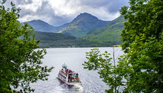 Inversnaid boat and scenery (kalkador) Tags: scotland scenic loch lomond