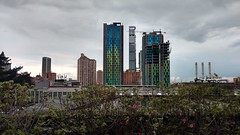 Skyline Bogotano (Yesid Reyes) Tags: bogot skyline beautiful city colombia colorful color modern mobile urban architecture building edificio magic freedom air silueta contraste
