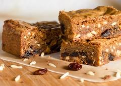 Traditional Campmasterin' Blondies (djwtwo) Tags: cherry recipe dessert baking almond blondies afsvrmicronikkor105mmf28gifed strobist