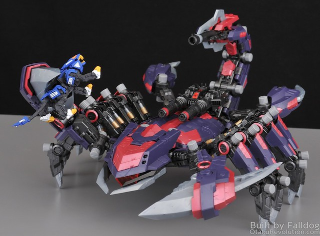HMM Zoids - Death Stinger Review 5 by Judson Weinsheimer