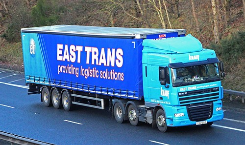 DAF XF - EAST TRANS Stallingborough