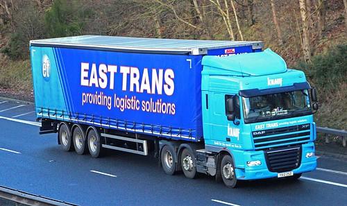 DAF XF - EAST TRANS Stallingborough