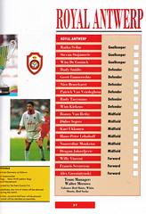 Parma vs Royal Antwerp - European Cup Winners Cup Final 1993 - Page 27 (The Sky Strikers) Tags: cup football teams european belgium royal german pools kits belgian antwerp parma visitors winners todays wembley officials squads