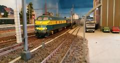Riddersbrugge rijdagen: INT 296 (Ignace Vanbiervliet) Tags: ho treinen nmbs modelspoor