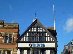 Cruise (KiranParmar) Tags: cruise blackandwhite buildings timber leicester timbered
