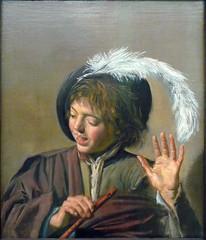 Hals, Singing Boy with Flute