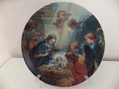 Vista Alegre Christmas Plate (antiquariaa) Tags: christmas natal plate 1999 vista alegre prato porcelain aveiro porcelana