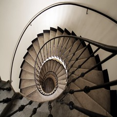 Prigioniera (meghimeg) Tags: stair steps bn scala 2012 chiocciola blackwite gradini savona