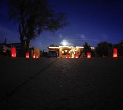 Front Yard Long Exposure (Immature Animals) Tags: arizona long exposure desert tucson az pima driveway lumaries