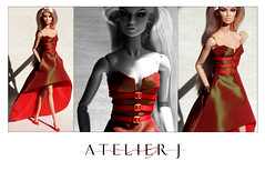 Tailormade in Spain (marcelojacob) Tags: vanessa fashion toys j doll dress jacob barbie wear collection espana spanish gown fashionista luxury marcelo perrin royalty collector atelier integrity 2016 fr2
