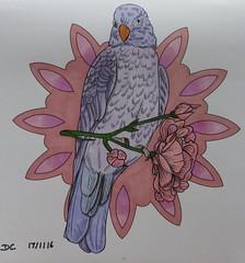 Ambiance bohème (Au fil de l'eau) (delphinecingal) Tags: coloring coloriage aufildeleau promarkers ambiancebohème