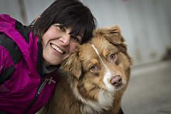 (Cristina Laugero) Tags: dog chien cane australiano amici con ragazza compagni