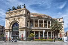 """Teatro Politeama """"Giuseppe Garibaldi"""" (Luis Ligo) Tags: teatro piazza palermo garibaldi sicilia politeama"""