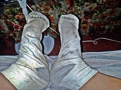 white/gray Hanes ankle sock 10 (nettie83_2000) Tags: socks sock dirty sweaty smelly hanes dirtysock