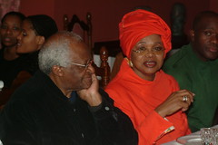 DSCF0801 South African High Commission residence four famous Divas: Desmond Tutu with HE Lindiwe Mbuza (photographer695) Tags: four high with african south famous desmond he residence commission tutu divas lindiwe mbuza