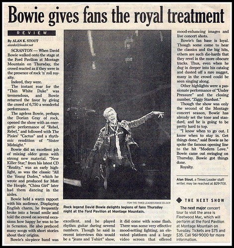 bowie review