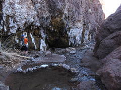 Devils Drain Canyon (adamhaydock) Tags: lasvegas canyon hotspring canyoneering