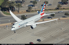 American Airlines B788 N805AN ($and$man) Tags: airplane los angeles aircraft landing boeing lax americanairlines oneworld 787 klax dreamliner n805an