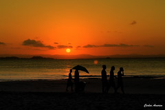 Silhuetas-Ponta do Mutá - Explore (Carlos Amorim (Camorim10)) Tags: sunset praia brasil mar pôrdosol bahia penínsulademaraú barragrande silhuetas pontadomutá