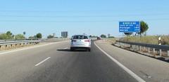 A-66-13 (European Roads) Tags: de la sevilla andaluca spain plata andalusia alto venta santiponce autova a66 gerena algaba