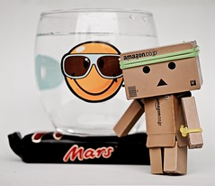 Water on Mars  (Damien Saint-) Tags: toy amazon vinyl yotsuba danbo revoltech danboard